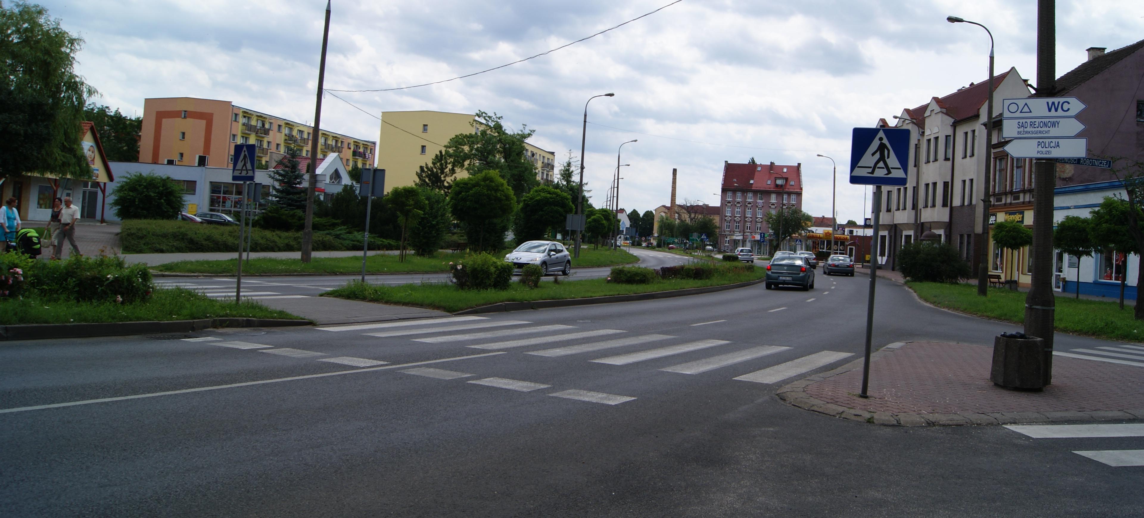 WC di Petunjuk Jalan Polandia
