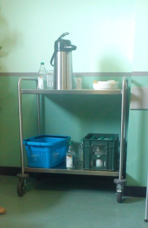 kopi di salah satu sudt